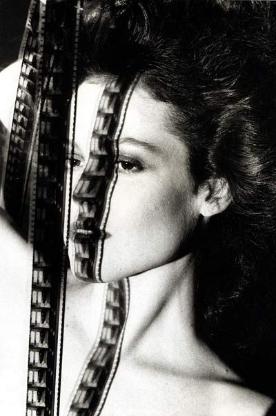 Sigourney Weaver by Helmut Newton - what an exceptional shot!