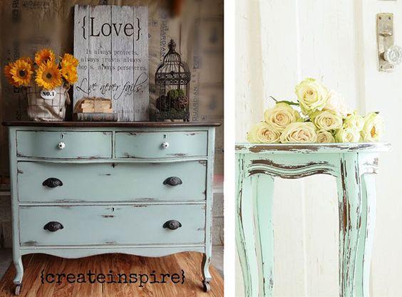 Muebles con chalk paint pintar - Pintar chalk paint ...