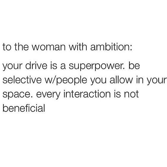 Selective.