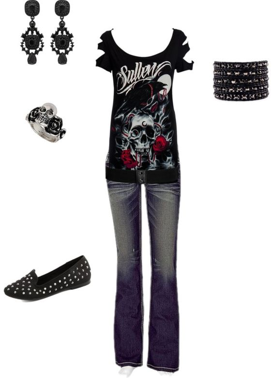 U0026quot;Concert outfitu0026quot; by ambermayer on Polyvore | When I get skinny again and HAVE to go shopping ...
