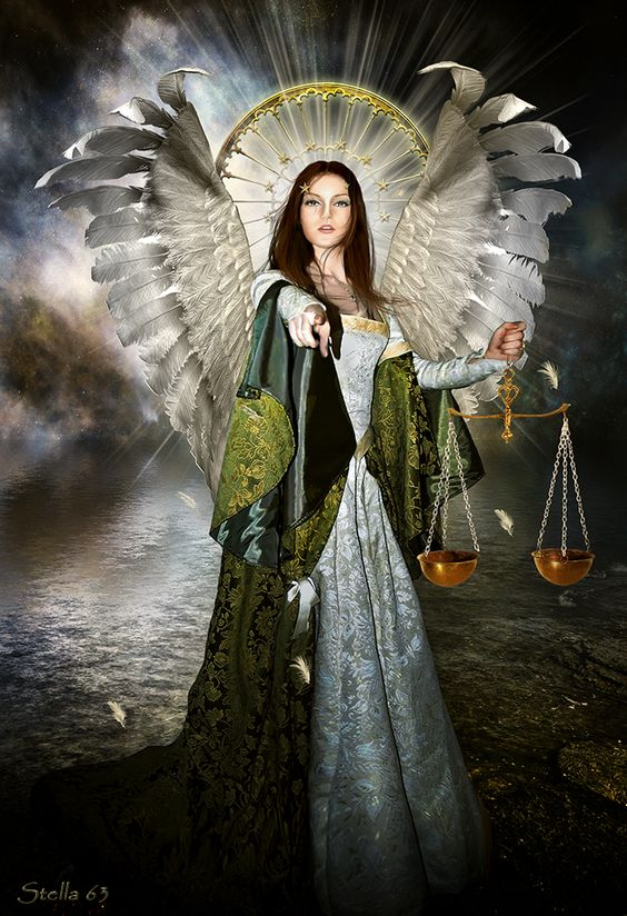 Angel of Justice by Stella63 on DeviantArt