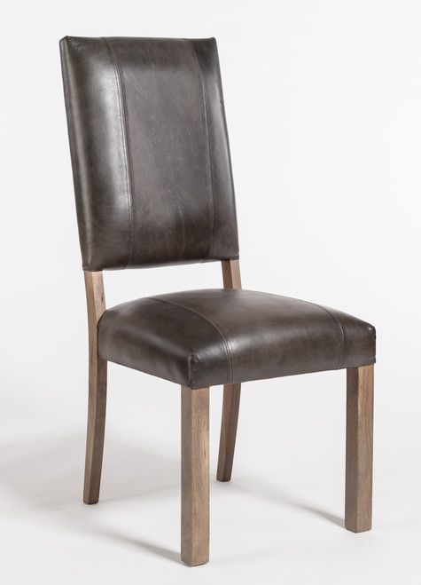 Square Back Leather Dining Side Chair Modern Side Chairs Dining Dining Chairs Leather Dining