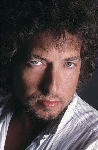 瞳が綺麗なボブ・ディラン