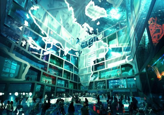 Eco-Friendly Transparent Water Cube Pavilion - Environment - InfoNIAC - Latest Inventions