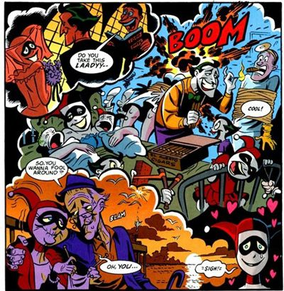 Batman, Joker, Mad Love, Harley Quinn, Amor Loco,