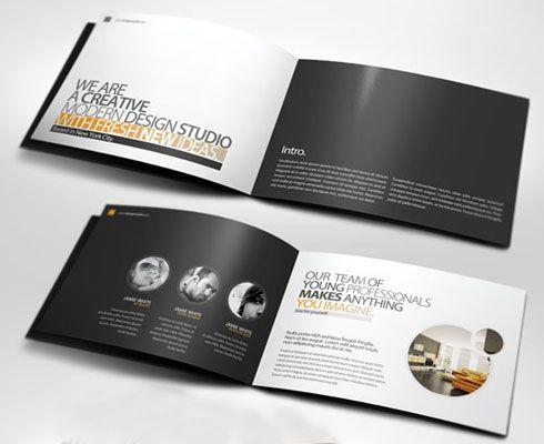 Company Profile A5 Tri Fold In 2020 Company Profile Company Profile Design Professional Website