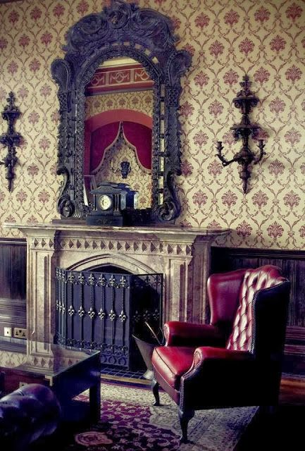 Eye For Design: Decorating In The Gothic Revival Style