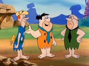 meet the flintstones of berock animated cartoons