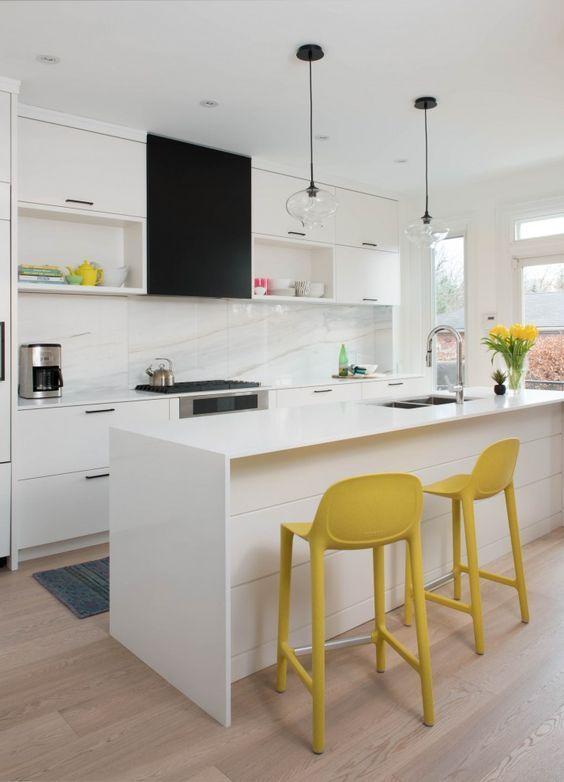 Colorful Kitchens Design Idea By Mhouse Inc Toronto Complete Your Kitchen With The Vigo Greenwich Pull Down Spray Cozinhas Modernas Tudo Para Cozinha Cozinha