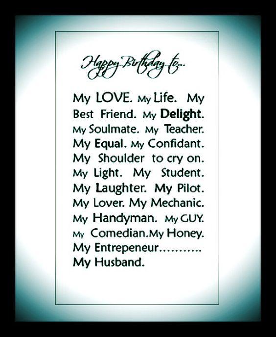 Happy Birthday Husband My Love: Pinterest €� The World's Catalog Of Ideas