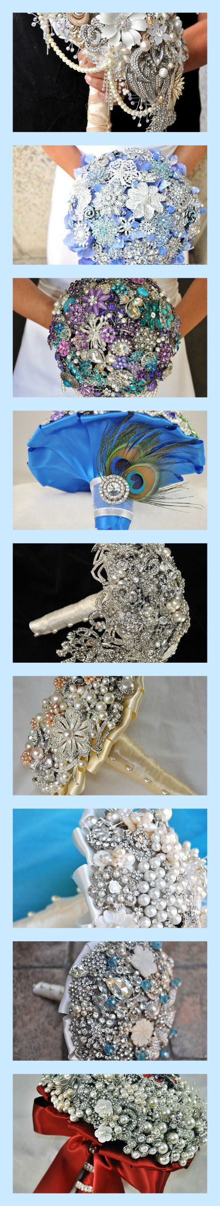 Brooch Bouquets - have friends/family bring broches to shower and make bouquet from the broches!!