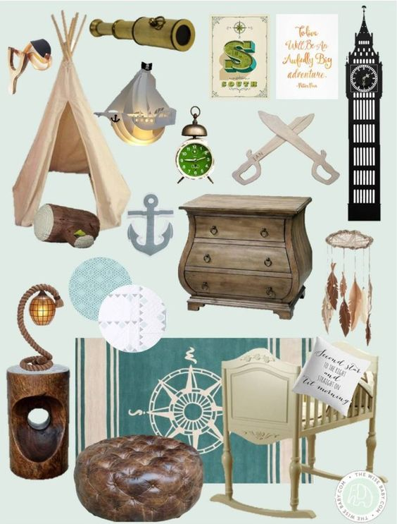 Peter Pan Inspired Nursery: