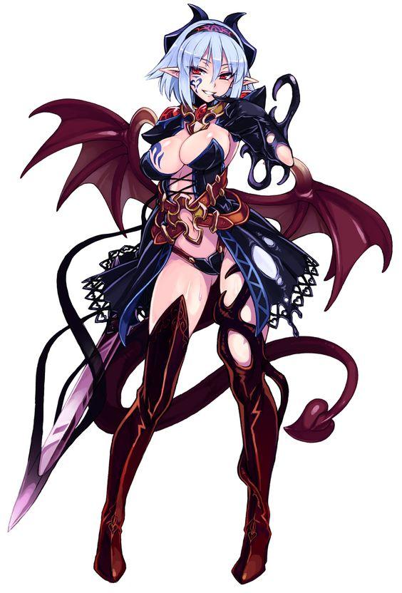 монстры и женщины аниме