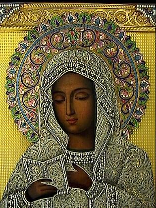 Russian Icons   Mother of God of Kaluga Icon  