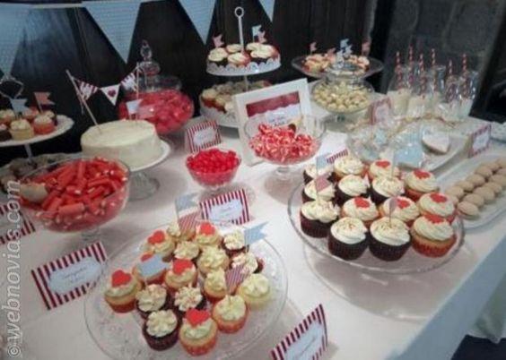 Mmm mesas de dulces para tu boda mesa de dulces - Mesa de dulces para boda ...