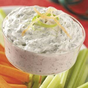 Dip: Esta es una forma inteligente de aumentar su consumo de vegetales, ya que ofrece una doble dosis de verduras.
