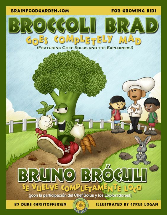 Does anyone know some good childrens food story books?