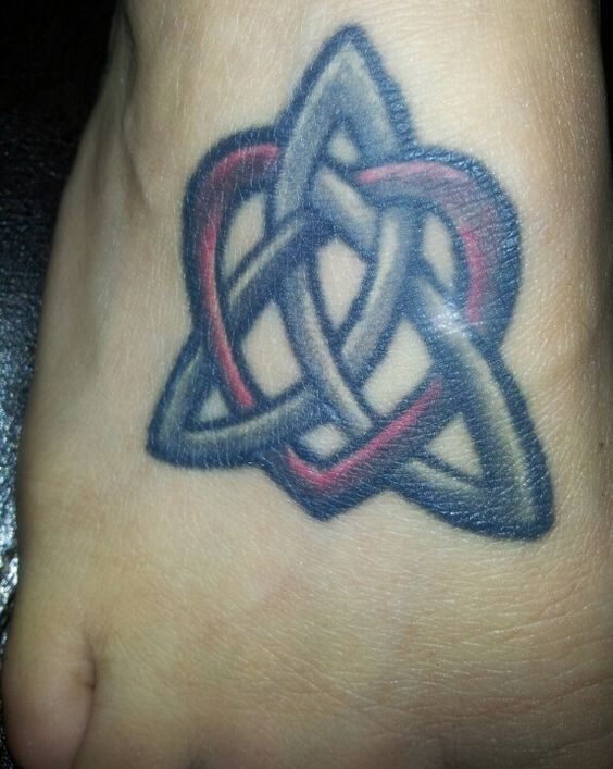 Celtic knot tattoo. Soul sister tattoo. Maiden, mother, crone and the bond of sisterhood.