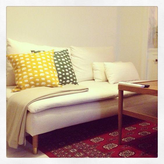 ikea sofa bed ikea sofa and furniture legs on pinterest. Black Bedroom Furniture Sets. Home Design Ideas