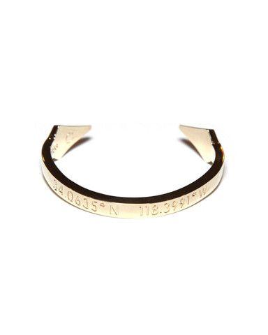 Coordinates - Life is Sweet Gold Bracelet