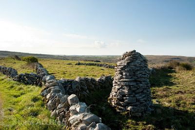 Stone Cairn, The Burren, County Clare, Ireland