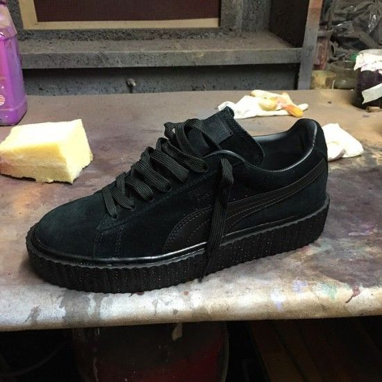 make your own puma suede creepers