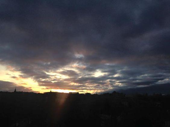 Abendstimmung in Bern mehr auf http://ift.tt/1eQDtgL