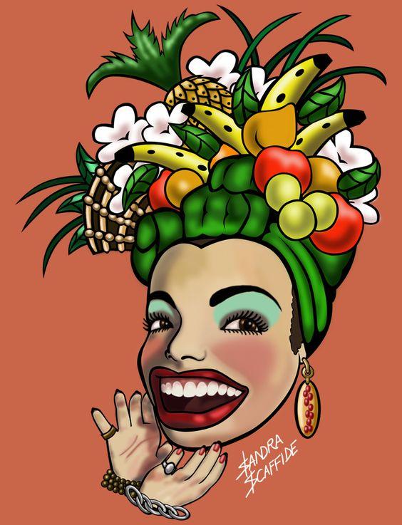 Aline Hannun - Artista Plástica: Mostra de Caricaturas no Museu Carmen Miranda