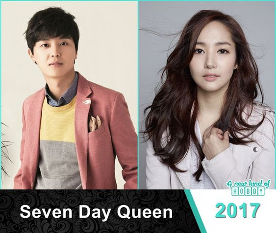 Yeon Woo Jin as the Most Sad king in Seven Day Queen - Korean Drama 2017: