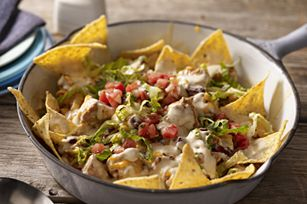 Chicken Enchilada Skillet using Philadelphia Garlic Cooking Creme - sounds yummy and easy!