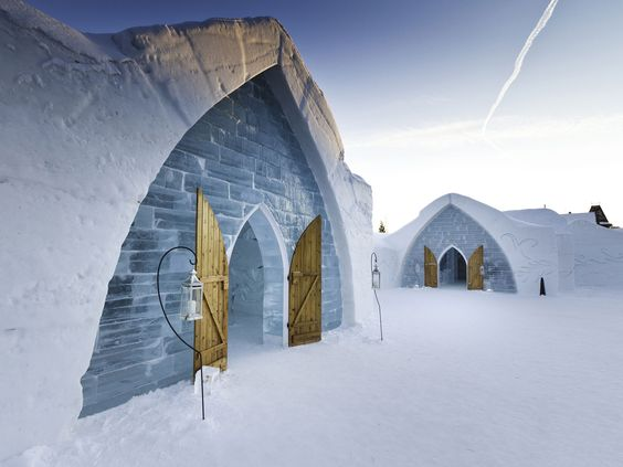 These 8 ice hotels are literally the coolest. Changing each winter, they