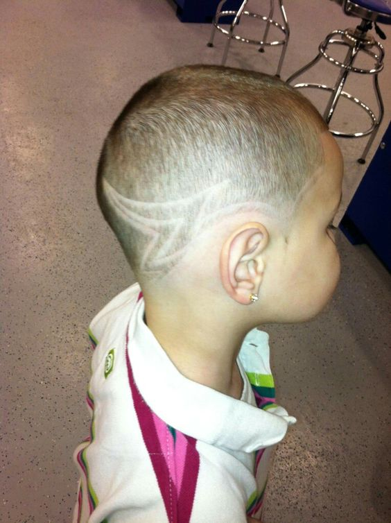 Jeaniels hair when I picked out the cut..