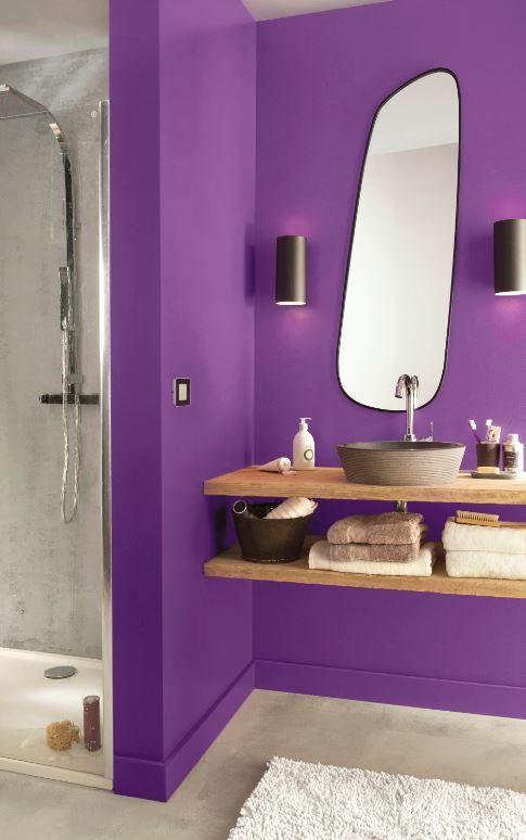 Peinture Multi Supports Purple Satin 2 5l Salle De Bain Violet