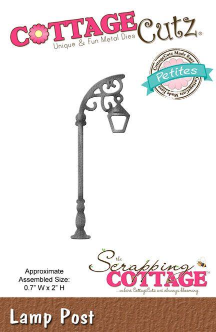 CottageCutz Lamp Post (Petites)
