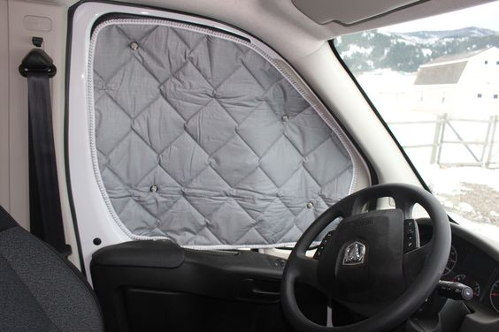 Promaster Diy Camper Van Conversion Curtains Van