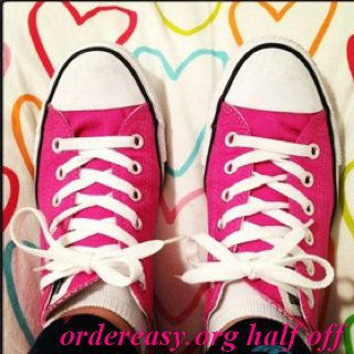 Pink converse...I sported these a number of years ago!??shouldve kept them!!     Fashion pink #converses #sneakers summer 2014
