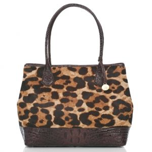 Spot on Leopard Anytime Tote.....so adorable to pair with just about anything!  #mybrahminstyle