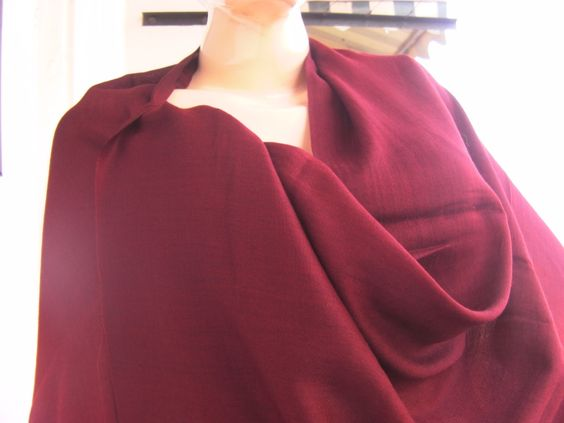 Kashmir Super Soft Shawl/Stole/Wrap #Maroon #Colour 100% Pure #Cashmere Fine Wool,  View more on the LINK: 	http://www.zeppy.io/product/gb/3/257312407/