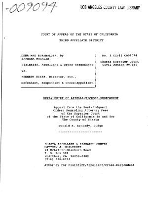 California Court Of Appeal 3rd Appellate District Records And
