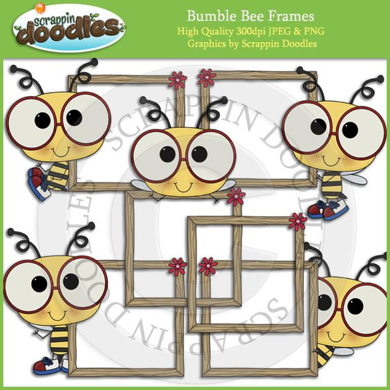 Bumble bees, Clip art and Bees on Pinterest