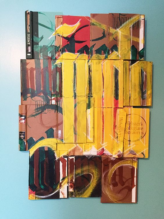 Book X Covers I Handpainted typography 1.10.16 http://accidental-typographer.tumblr.com/