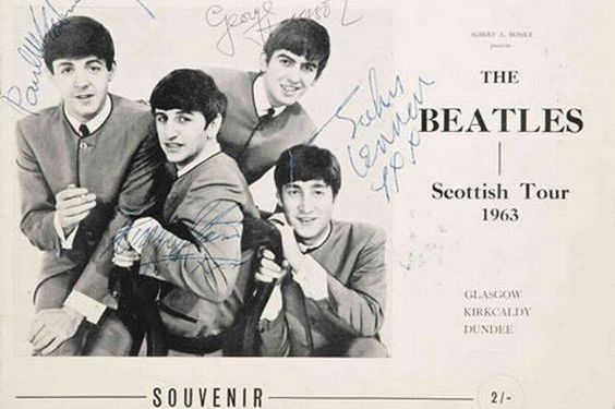 Today in 1963, the Beatles play at the Concert Hall in Glasgow; official start of their mini Scotland tour. ~DT