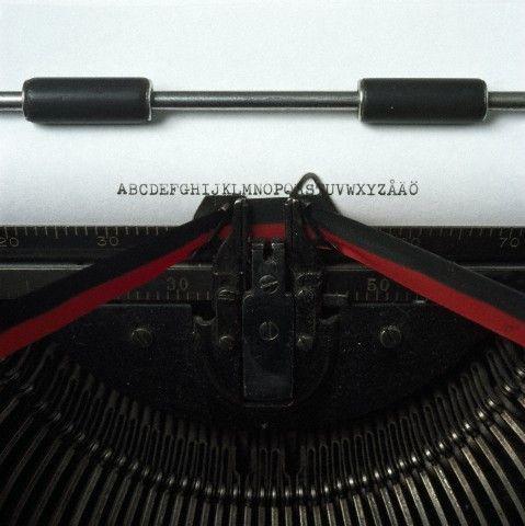 Los principios de la comunicación escrita: La máquina de escribir