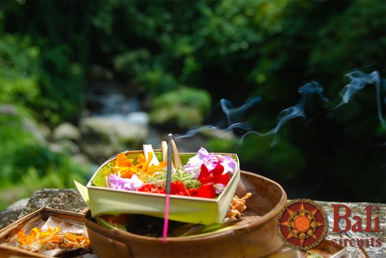 #Indonesia #Bali #Offering #Gods #Traditions #Flowers #Colors #Incense #Culture