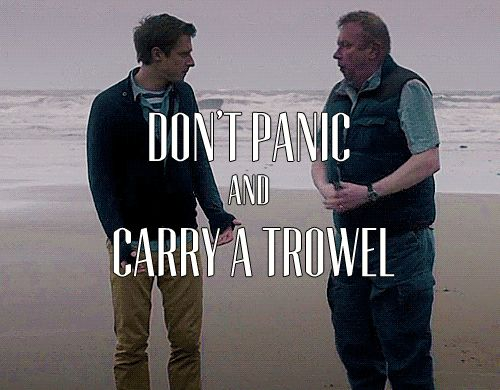 Carry a trowel.