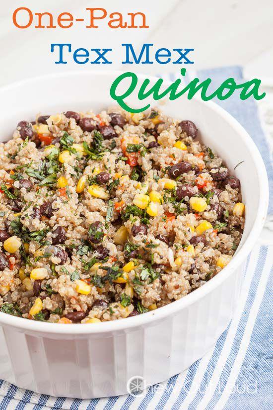 Easy Tex Mex Quinoa | Recipe | Dinner, Night and Dishes