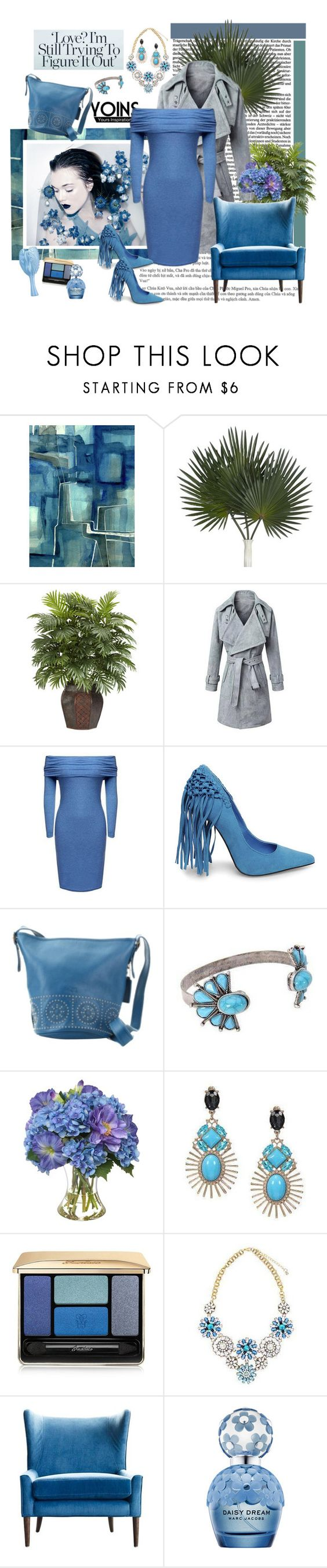 """Yoins - Of Shoulder Dress"" by carola-corana ❤ liked on Polyvore featuring Steve Madden, Coach, Diane James, Guerlain, Marc Jacobs, women's clothing, women, female, woman and misses"
