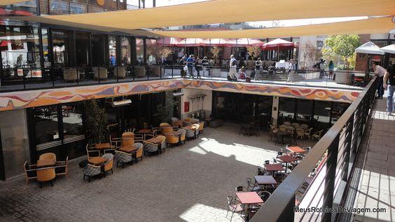 Patio Bellavista, centro comercial a céu aberto - Santiago, Chile