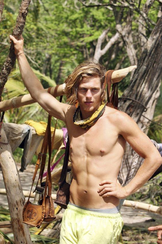"Jud ""Fabio"" Birza (21) won the title of Sole Survivor on Survivor: Nicaragua ( aired Fall 2010)"
