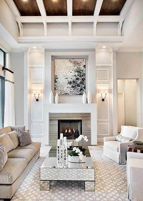 101 Mediterranean Style Living Room Ideas Photos In 2020 High Ceiling Living Room Livingroom Layout Small Living Room Decor